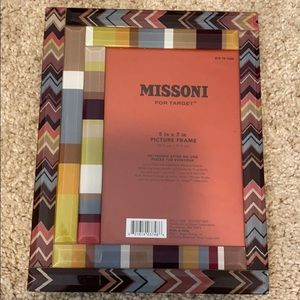 Missoni for Target 5 in x 7 in Glass Picture Frame